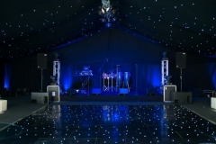 Stage and dancefloor