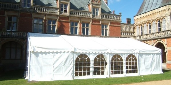 Small Informal Posh Party Marquees Prices